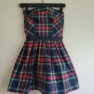NWT Abercrombie & Fitch | Tartan Plaid Fit & Flare